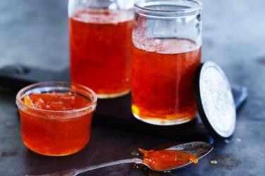 Dan Lepard's grapefruit and cardamom wholefruit marmalade.