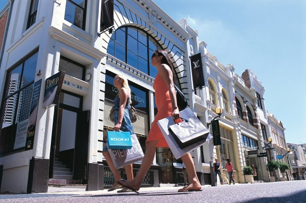 Luxury brands have enjoyed a long history of strong retail results on trendy King Street in Perth.