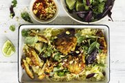 Karen Martini recipe: Roasted lemongrass and turmeric chicken steaks Photograph by William Meppem (photographer on contract, no restrictions)