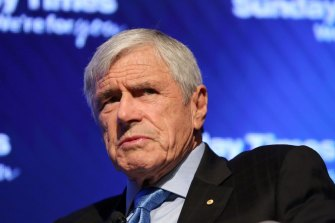 Seven West Media and War Memorial chairman Kerry Stokes.
