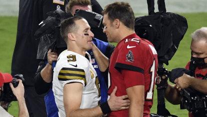 Brady's Buccaneers take down Brees' Saints