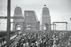 The official opening day of the Sydney Harbour Bridge was on 19 March, 1932.