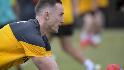Hawthorn's Tom Scully could return this week