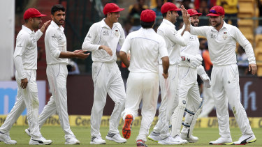 Afghanistan's men's cricket team are scheduled to play a Test in Australia in November.
