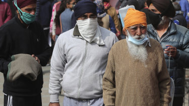Although not everyone has been wearing a mask, face coverings are believed to have contributed to a decline in COVID cases in India.