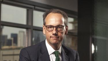 ASIC chairman James Shipton.