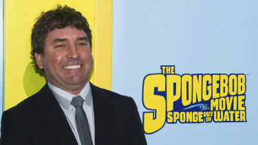 SpongeBob SquarePants creator Stephen Hillenburg in 2015.