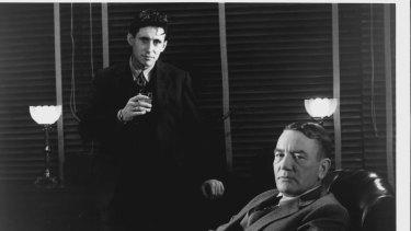 Gabriel Byrne with Albert Finney in Miller's Crossing.