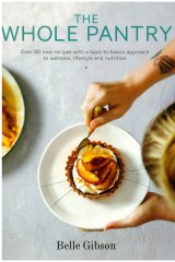 Belle Gibson's book The Whole Pantry.