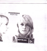 The day I was arrested in 1970. Meredith Burgmann.