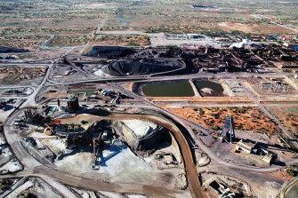 BHP's Olympic Dam mine.