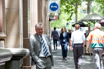 Pollster Gary Morgan of Roy Morgan Research is running for Lord Mayor.