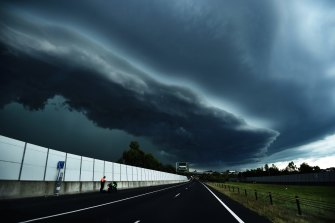 Thunderstorms, including those dropping hail, are likely to become more intense and more frequent in the future.