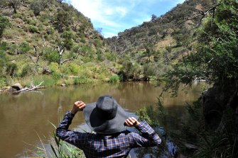 Werribee Gorge is among five new park closures due to COVID-19 public distancing restrictions.