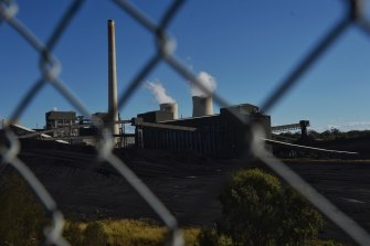 AGL's Bayswater power plant: the NSW government has started work on interim statewide carbon emissions targets to set a course to reach net-zero by 2050.