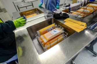 A large chunk of CSL's annual revenues come from treatments made after refining donated blood plasma from the public.