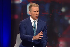 Q+A host Hamish Macdonald is leaving the ABC, the public broadcaster announced this week.