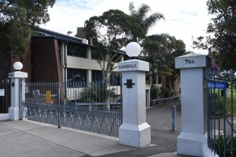 Kambala, in Sydney's eastern suburbs, is moving K-10 classes online.