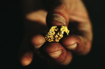 Precious metals miners are lower today.