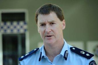 Then Superintendent Shane Patton in 2009.
