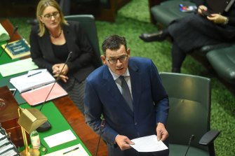 Powers enforced by Premier Daniel Andrews' government have not been subject to scrutiny in Parliament.
