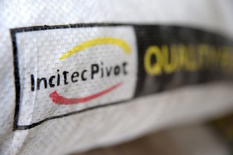 Incitec Pivot shares slumped after a disappointing update on its Waggaman plant.