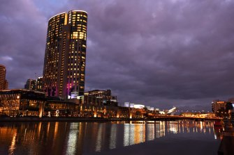 Crown Resorts' casino in Melbourne's Southbank.
