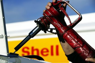 Shell and its Big Oil peers are cutting oil output drastically.