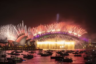 The smaller display will focus on the Harbour Bridge at midnight, with the earlier fireworks scrapped.