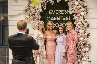 Everest Race Day at Royal Randwick in October 2020.