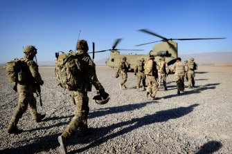 Defence Minister Peter Dutton said on Sunday six remaining Australian troops left Afghanistan last month.