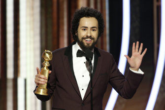 Ramy Youssef won the Golden Globe for best actor in a TV series, comedy or musical. He humbly acknowledged that his win was likely to mystify many of the assembled guests who had likely never heard of him.