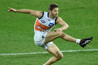 Callan Ward received death threats after being being awarded a free kick against the Bombers.