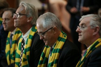 FFA's bid to host the 2023 Women's World Cup was launched by then-CEO David Gallop, then-Prime Minister Malcolm Turnbull, and then-FFA chairman Steven Lowy.