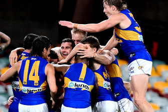 Fly away home: The Eagles are set for a home final if they finish fifth or sixth.