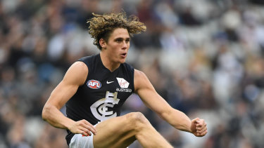 Charlie Curnow will be back for the Blues this weekend, sooner than initially expected.