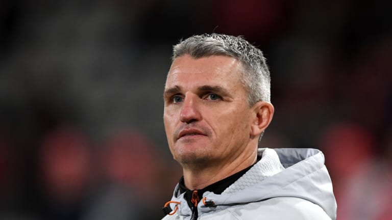 Loyal: Ivan Cleary says it's his intention to honour his Tigers contract.