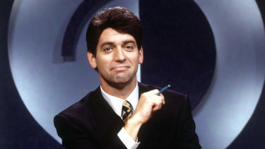 Rob Sitch as Mike Moore in <i>Frontline</i>.