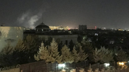 Explosion at US Embassy in Kabul on September 11 anniversary