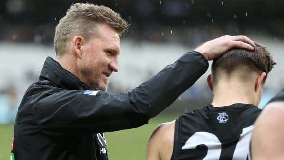 Magpies only getting better, warns Buckley