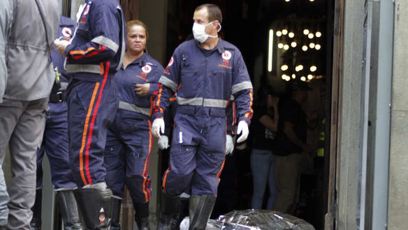 Gunman opens fire in Brazil cathedral, fatalities reported