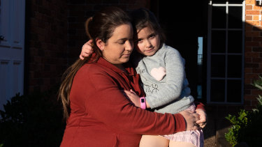 Catherine Kokal's daughter, Sophia, was denied surgery at Double Bay Day Hospital because she lives in Casula.