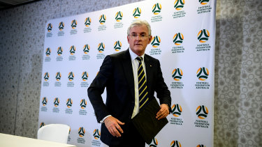 End of an era: Steven Lowy will oversee his last meeting as FFA chairman on Monday.