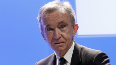LVMH CEO Bernard Arnault's wealth has grown by more than $55 billion since the start of the year.