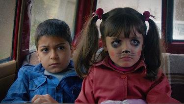 Youna Tadayyon, as Ali, and Niousha Alipour, as Sara, in Castle of Dreams.