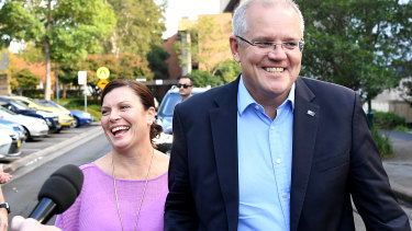 Prime Minister Scott Morrison, arriving for church on Sunday with wife Jenny, has enhanced his authority in the party.