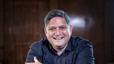 The artistic director of Sydney Festival, Wesley Enoch.