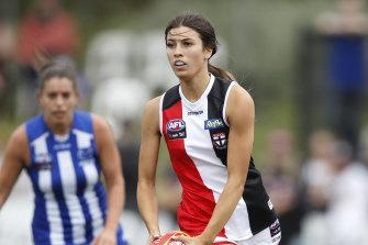 Georgia Patrikios starred for the Saints.