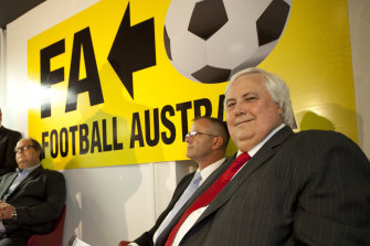 Clive Palmer's A-League team was a disaster, but in some ways he was ahead of the game.
