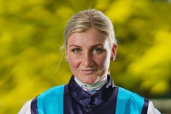 Melbourne's leading jockey Jamie Kah.
